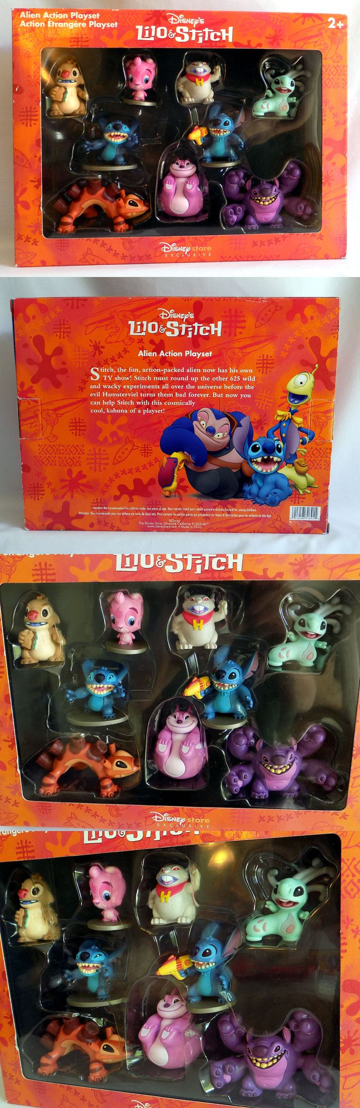 Lilo and Stitch 44035: Disney Exclusive Lilo And Stitch 9 Alien Figures Set Toy ~ Rare - New! Yang -> BUY IT NOW ONLY: $89.63 on eBay!