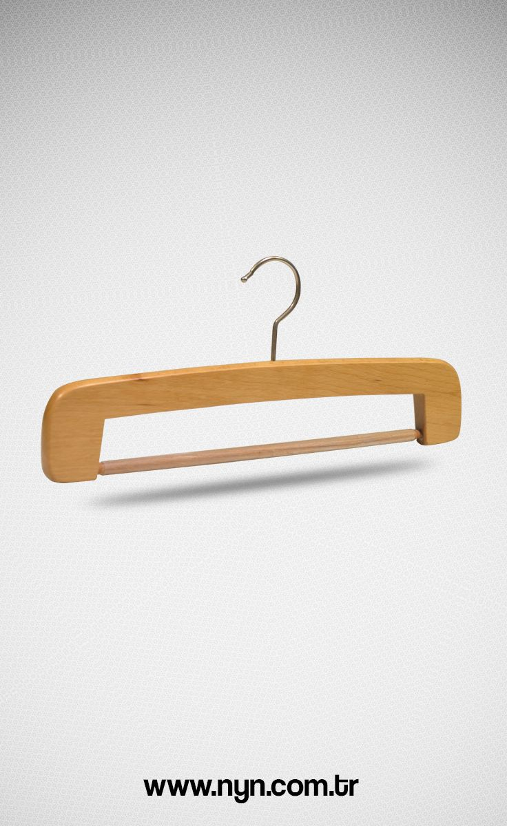 Special wooden trousers hanger