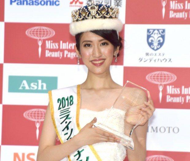 ミス・インターナショナル日本代表に決定した杉本雛乃さん (C)ORICON NewS inc.  来年のミス・インターナショナル日本代表を決める『2018 ミス・インターナショナル日本代表選出大会』ファイナルが30日、都内で行われ、兵庫県出身の東京大学に通う大学生・杉本雛乃さん(20)が栄冠に輝いた。