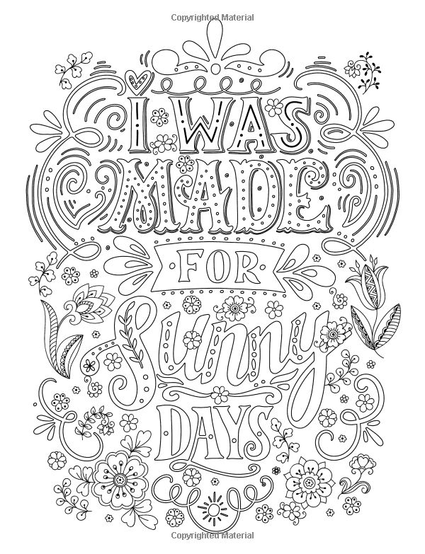 Amazon.com: Adult Coloring Books Good vibes: Don't give up ...