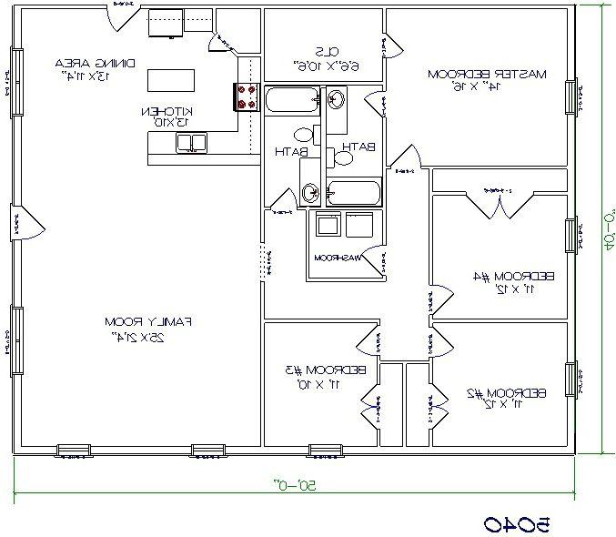 253 best barndominium plans images on pinterest pole for 30x50 house floor plans