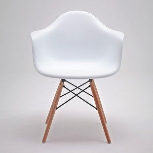 Cadeira DAR Com Bra?o - Charles e Ray Eames - DFAW Branco