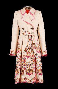 Maya Coat Creme - Coats & Jackets - Outlet - Online Store - Lena Hoschek Online Shop