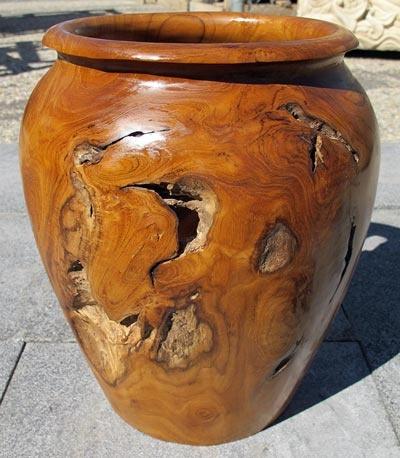 Reclaimed Teak Erosion Vase, small, from Impact Imports - Boise &  Philadelphia - 36 Best Images About Reclaimed Teak Accessories On Pinterest
