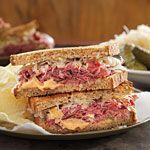 Reuben Sandwich Recipe (and easy sauce)