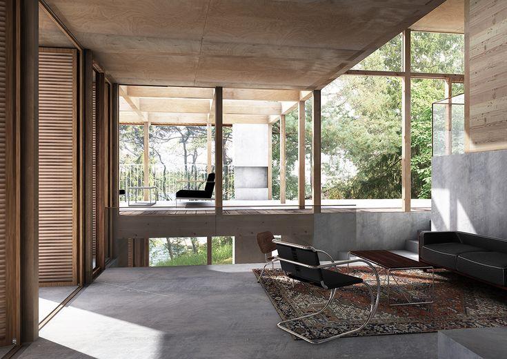 lowen widman arkitekter / hus saltaro, värmdö stockholms skärgård
