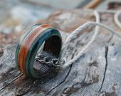 Visit our Etsy shop for our latest skateboard jewelry!  Made from recycled skateboard parts.