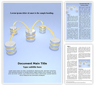 Download our Distributed Database #Architecture #Word #document template now for effective business documents. #TheTemplateWizard #Distributed #Database #Architecture Microsoft Word template is a complete package – ready to be edited and printed. These Distributed #Database Architecture Word doc templates could be used perfectly for themes and #backgrounds related to #Data, Database #Architecture, #Technology, #Database, Intranet, #Internet, #Information and such topics.