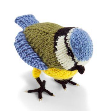 Ah, Knitted bird