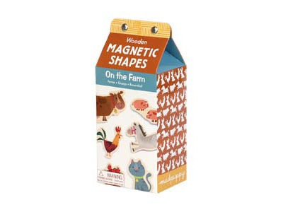 Mudppy - Wooden Magnetic On the Farm Set