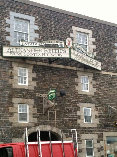 Halifax, Nova Scotia..Alexander Keith's Brewery.
