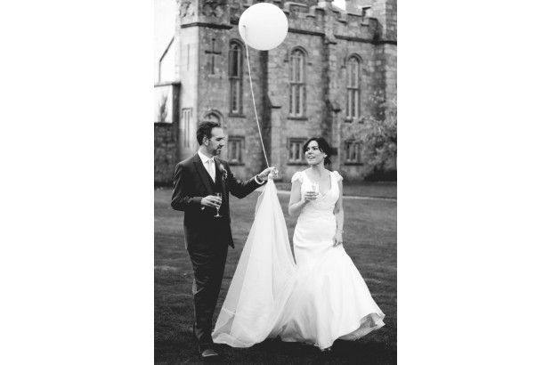 One of gorgeous brides and her handsome husband! Stunning photo. www.empowerstudio.ie #makeup #bride #wedding #beauty