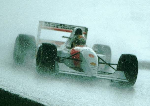 """"""" """"Whenever it rained, I went to the go-kart track,"""" Senna explained. While other racers were sitting at home watching their Dad's filthy movies, Senna was getting pissed wet through driving round and..."""