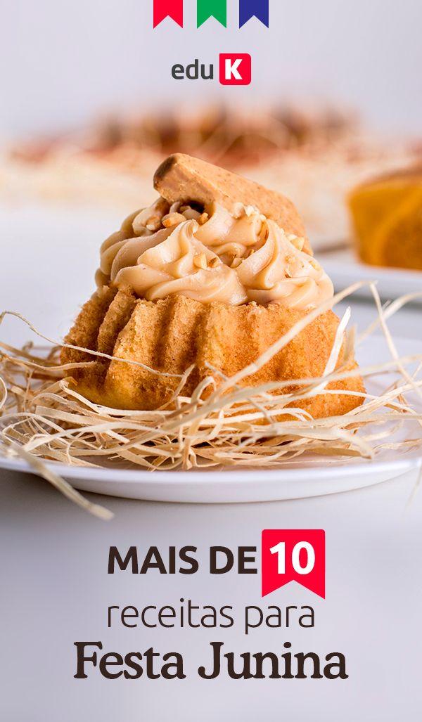 Mais de 10 receitas para festa junina! Para que você não perca a chance de ganhar dinheiro nessa época do ano, vamos ensinar desde pipoca caramelada, maçã do amor, caldinhos, bolos salgado e doce, canjica, curau e bebidas típicas.