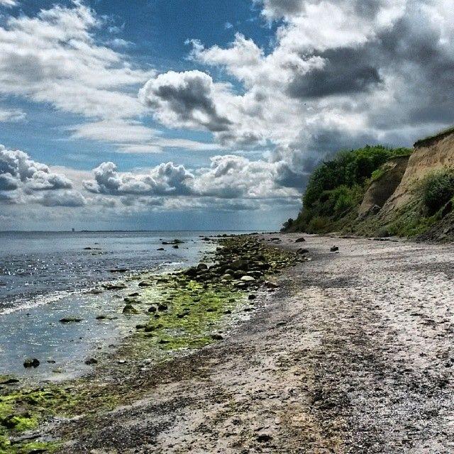 Die Steilküste vor Grömitz