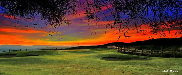 Early morning at Minthis Hills Golf, Tsada, Paphos, Cyprus