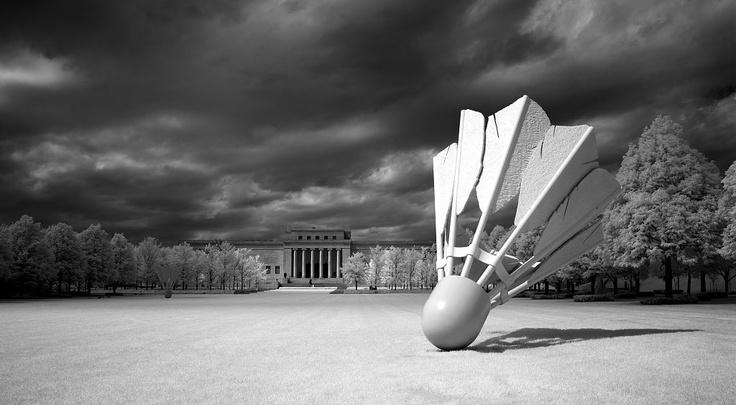Nelson Atkins Art Museum, Kansas City, MO: Claes Oldenburg, 2004 Photographers, Atkins Art, America Photographers, Kansas City, Art Museums, Shuttlecock Sculpture, Nelson Atkins, Kansas Cities Missouri