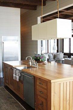 Lake House - contemporary - kitchen - atlanta - Yvonne McFadden LLC