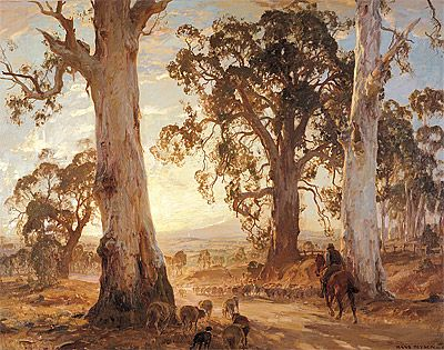 Heysen Droving - Hans Heysen - Wikipedia, the free encyclopedia
