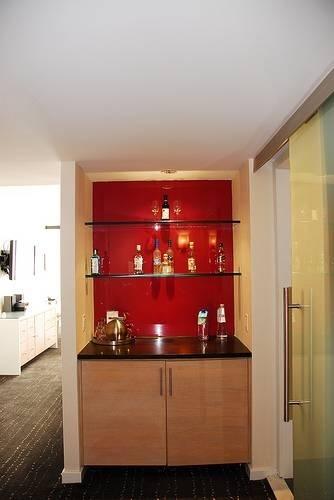 Small bar area for basement