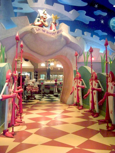 Alice In Wonderland Restaurant in Tokyo, Japan