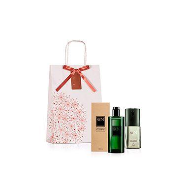 Presente Natura Sr N Clássico - Desodorante Colônia + Deo Corporal + Embalagem | Rede Natura