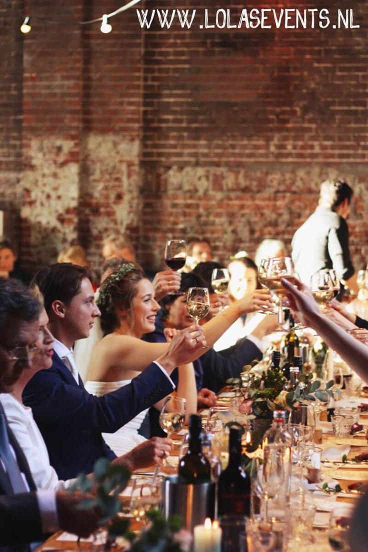 Botanical bruiloft - Westerliefde Amsterdam - Lola's Events