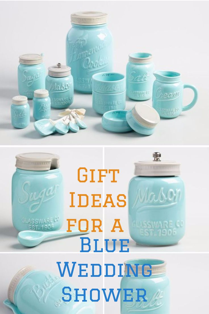 Beautiful Assortment Of Pastel Blue Kitchen Accessories And Appliances.