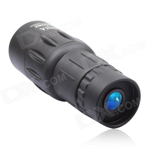 BIJIA 30x42WA Nitrogen Water Resistant HD High-powered Scope Monocular Telescope - Black