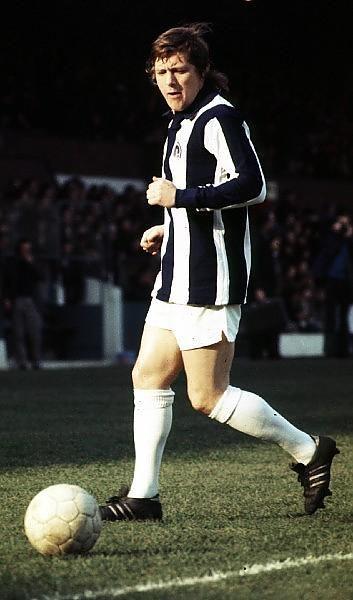 Willie Johnston West Bromwich Albion 1974