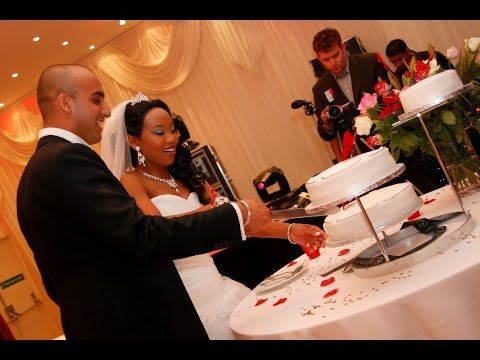 Interracial Wedding Highlights - Part 2 - Wedding Reception - Indian Wedding - Mixed Race Wedding - YouTube http://youtu.be/ZX3ubhsMeCM