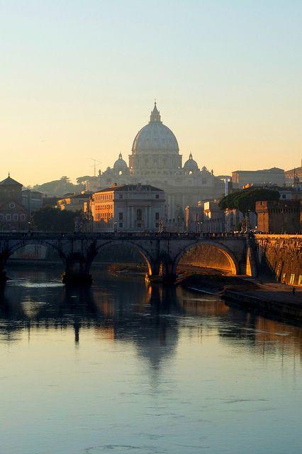 Imorgon åker vi till Rom