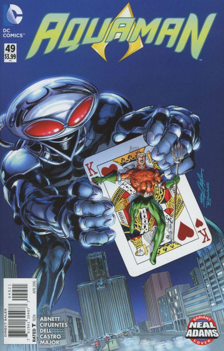 DC Comics - Aquaman #49 (New 52) - Neal Adams Variant Cover