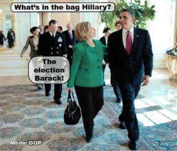 Funniest Hillary Clinton Memes: What's in the Bag Hillary?