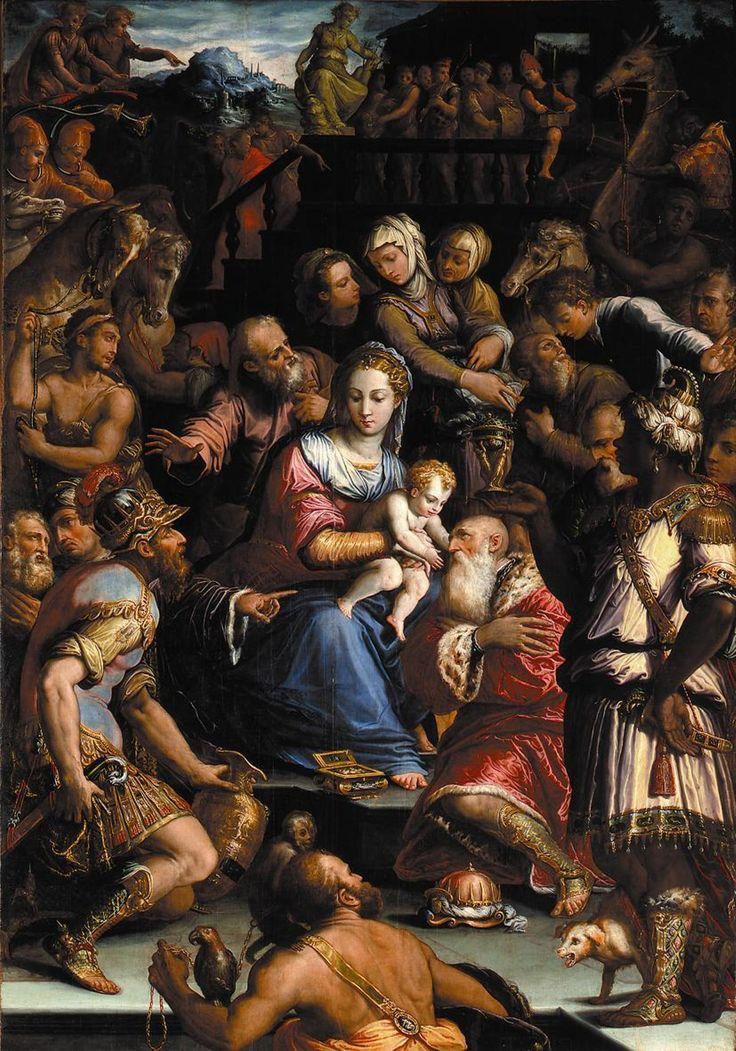 Giorgio Vasari (1511-1574) -  Adorazione dei Re Magi - 1547-48 - Chiesa di S. Fortunato, Rimini (Emilia Romagna, Italia)