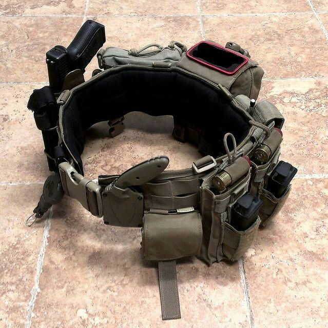 "badger-actual: "" Battle Belts. """