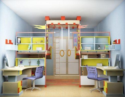 Спортивный уголок в детской комнате: особенности интерьера | Строительный портал
