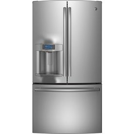 GE Profile Series 27.7-cu ft French Door Refrigerator with Dual Ice Maker (Stainless Steel) ENERGY STAR