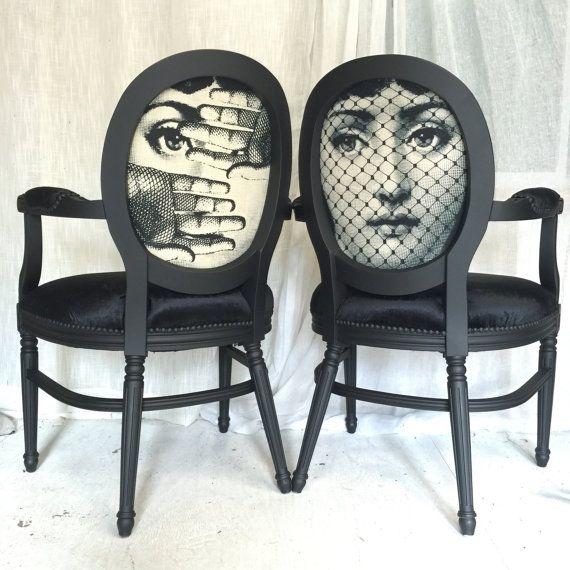 les 25 meilleures id es de la cat gorie chaises en tissu sur pinterest peindre les chaises de. Black Bedroom Furniture Sets. Home Design Ideas