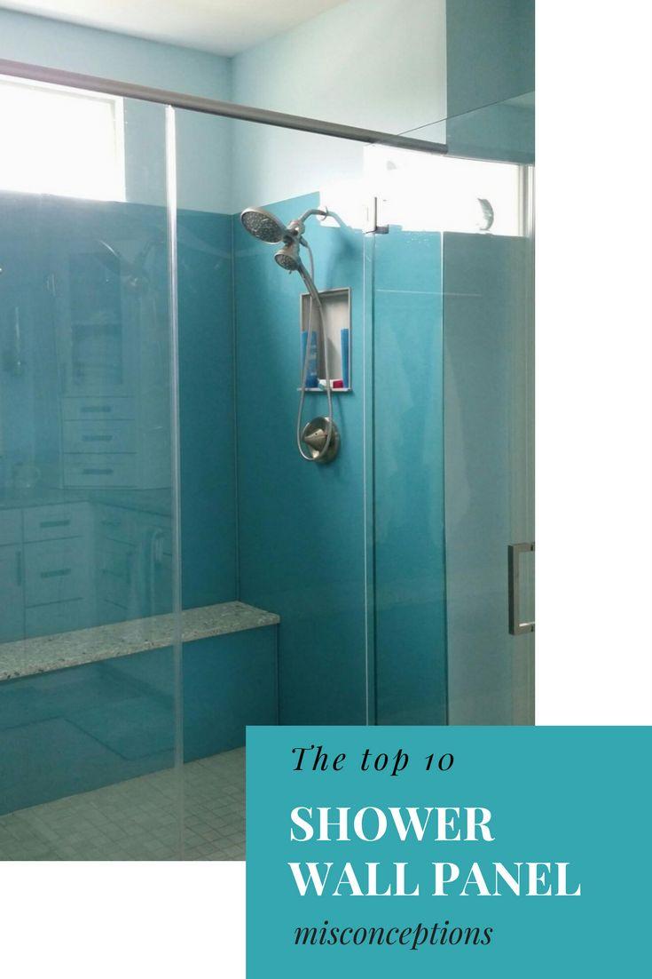 212 best Shower & Tub Wall Panels images on Pinterest   Bathroom ...