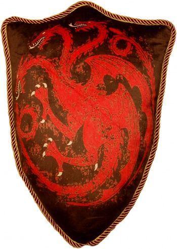 dragon targaryen emblema cojin 55x35x15 cm game of thrones #gameofthrones