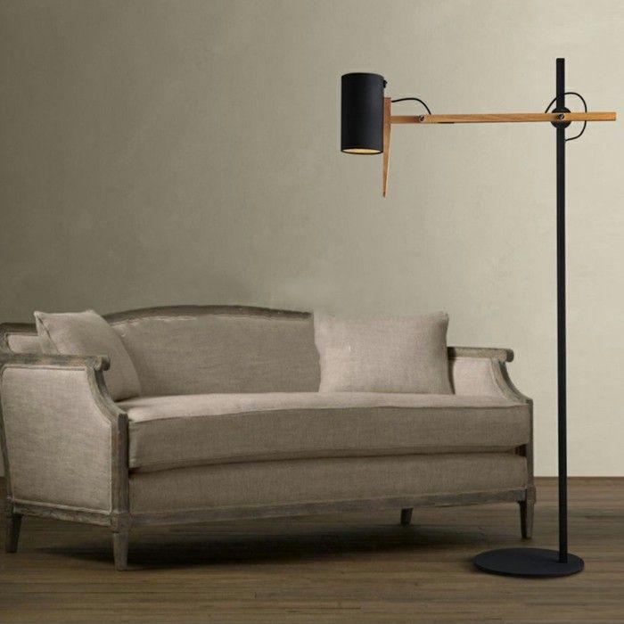 25 einzigartige standlampe ideen auf pinterest badezimmerlampe decke stehlampe aus holz und. Black Bedroom Furniture Sets. Home Design Ideas