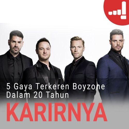 Artikel Lulu: 5 Gaya Terkeren Boyzone Dalam 20 Tahun Karirnya! #BZindo