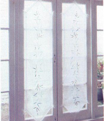 T cnicas de instalaci n y tipos de visillos decoracion - Tipos de visillos ...