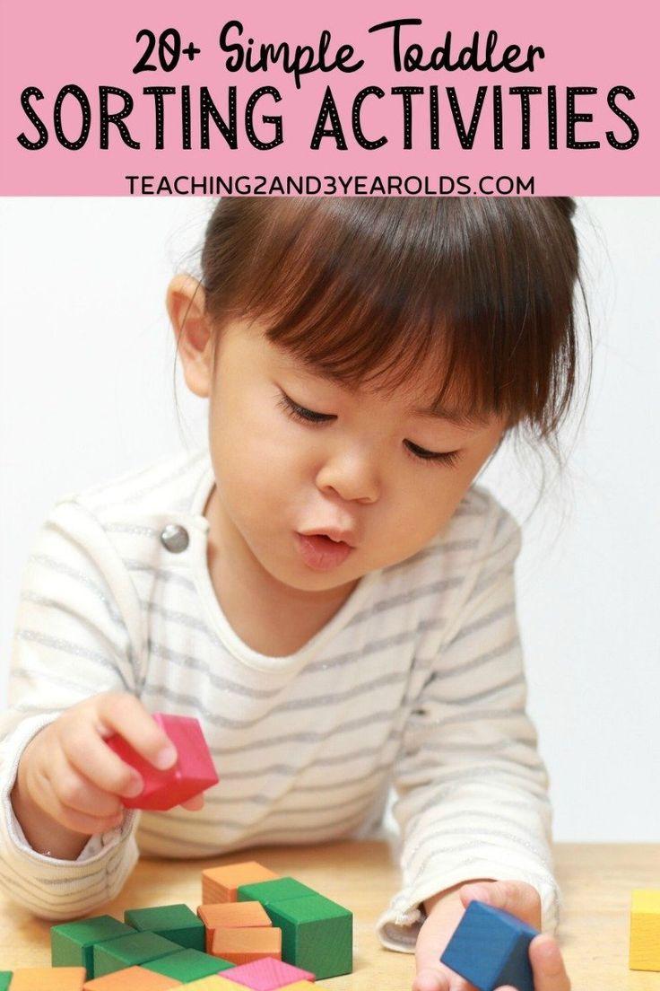 20 Simple Toddler Sorting Activities In 2020 Toddler Learning Activities Kids Learning Activities Sorting Activities