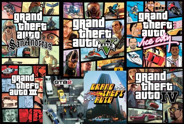 Games in the Grand Theft Auto Series: Grand Theft Auto Series