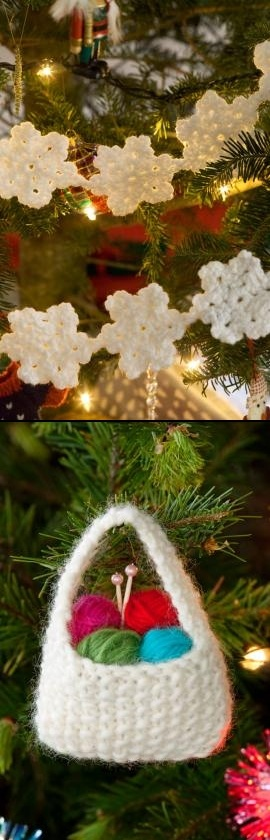 36 Best Knit Crochet Xmas Tree Decorations Images On Pinterest