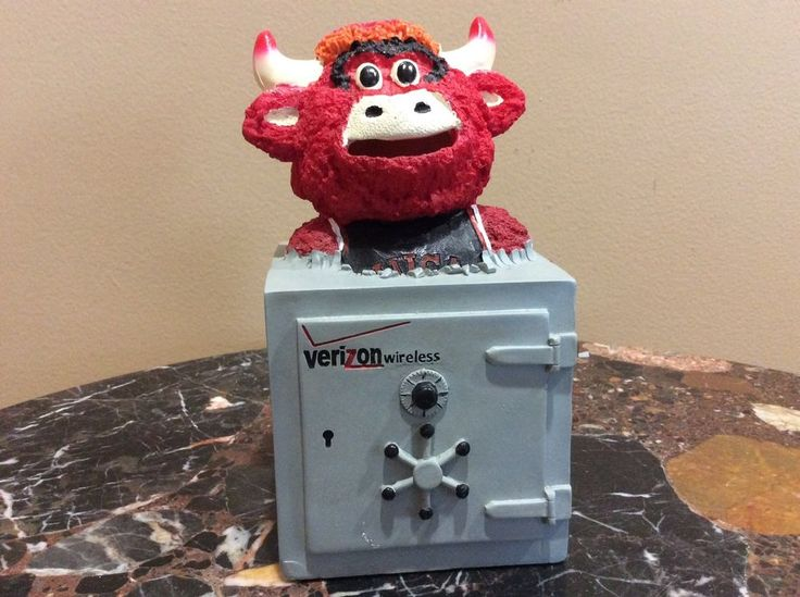 Chicago Bulls Official Benny The Bull Coin Bank - SGA. This is an official stadium giveaway (SGA) sponsored by the Chicago Bulls and Verizon Wireless. Drop coins into Benny's mouth and start saving! | eBay!