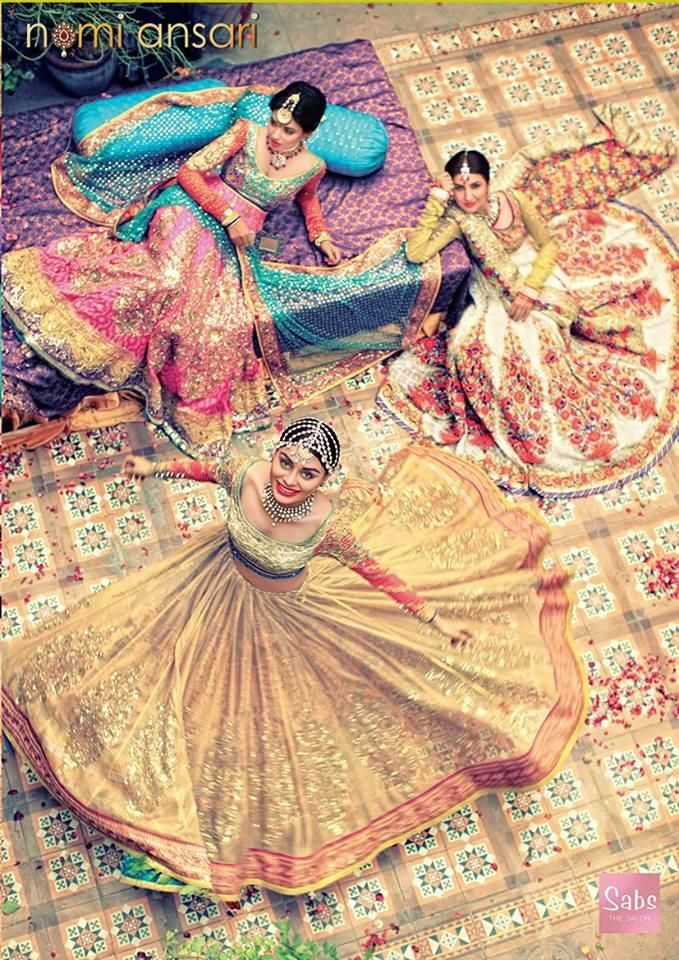 Colourful 2014 #Desi wedding collection