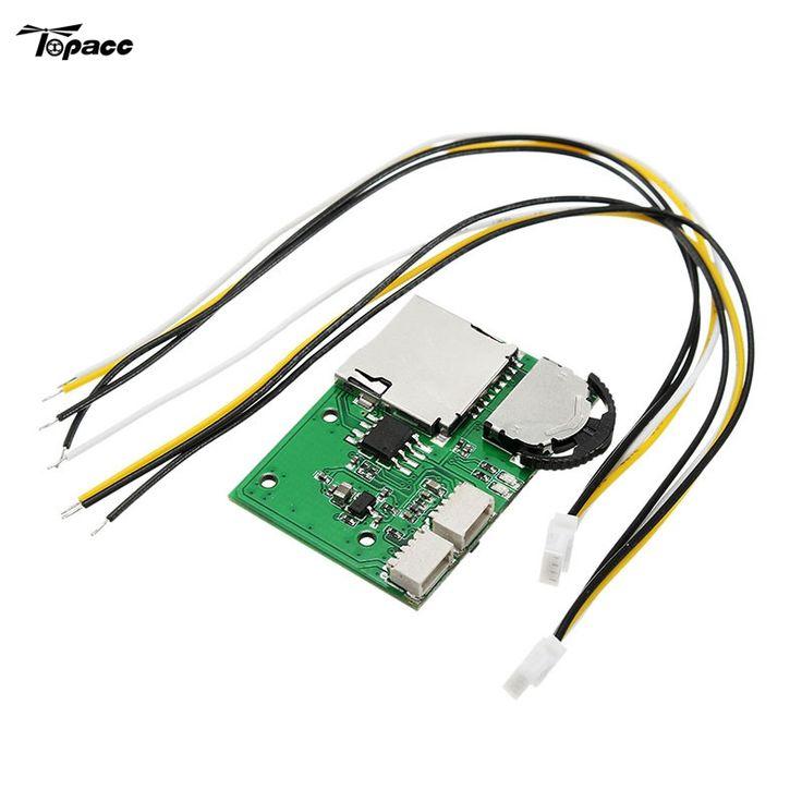 送料無料diyマイクロdvrビデオデッキモジュールミニビデオレコーダーサポート記録再生sdカード用fpvカメラモニター